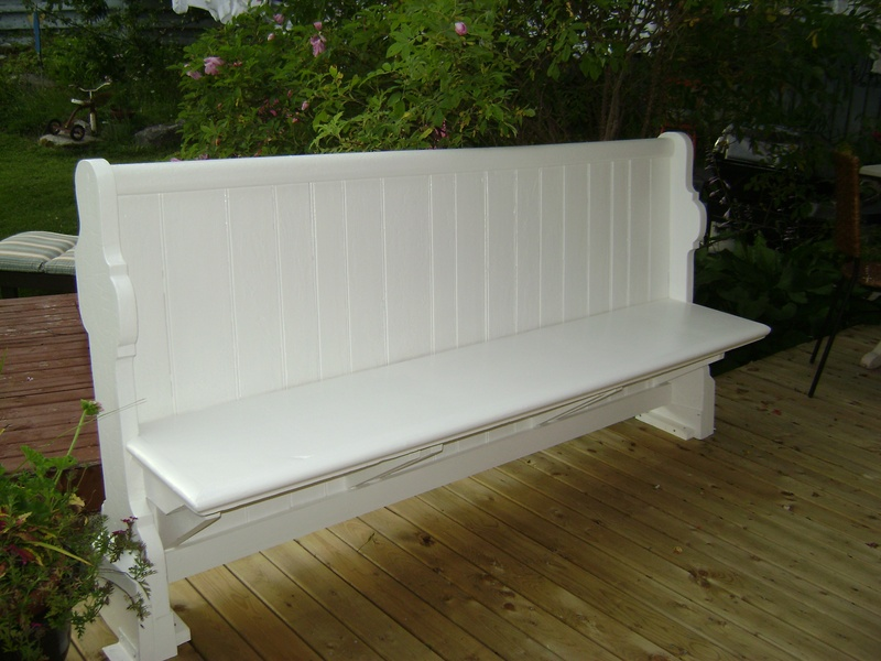 40P - Deck Bench