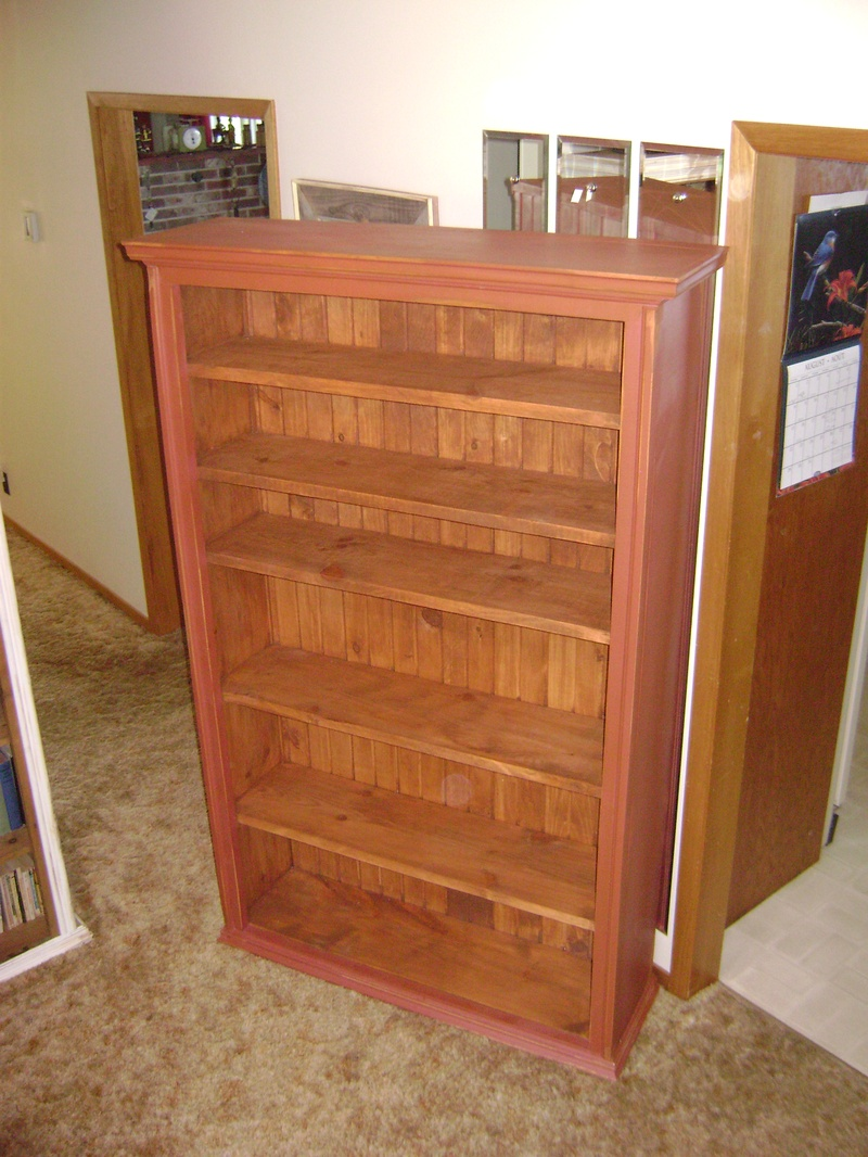 43P - Large Bookshelf