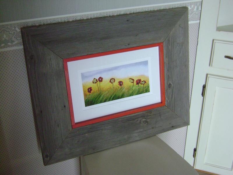24P-Barn Board Picture Frame