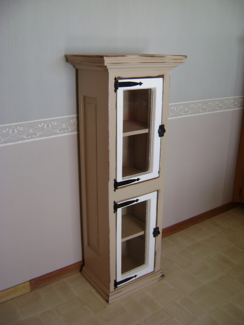2P-Window Pane Cabinet